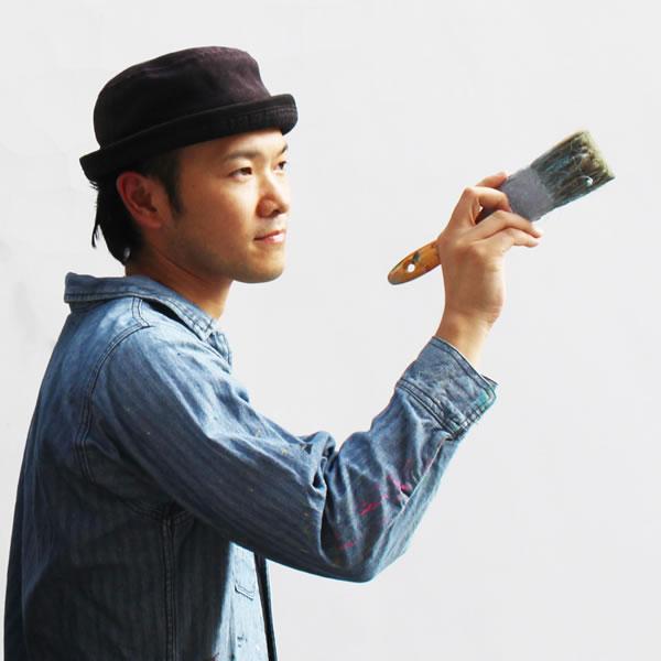 空間ペインター代表芳賀健太の肖像